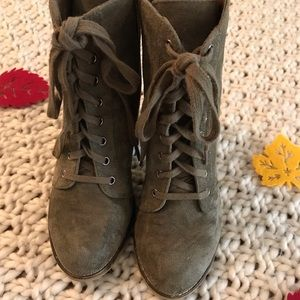 🍭CANDIE'S🍭 Olive Boots Size 8